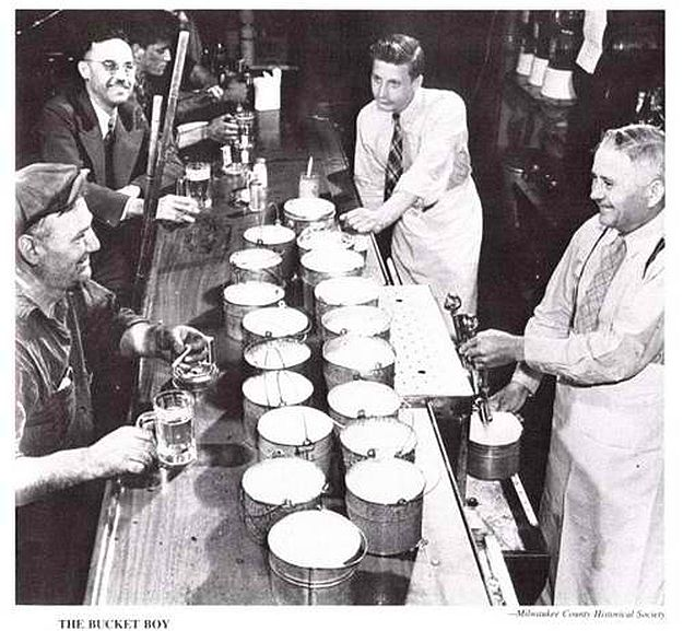 Scranton PA Filling Beer Growlers